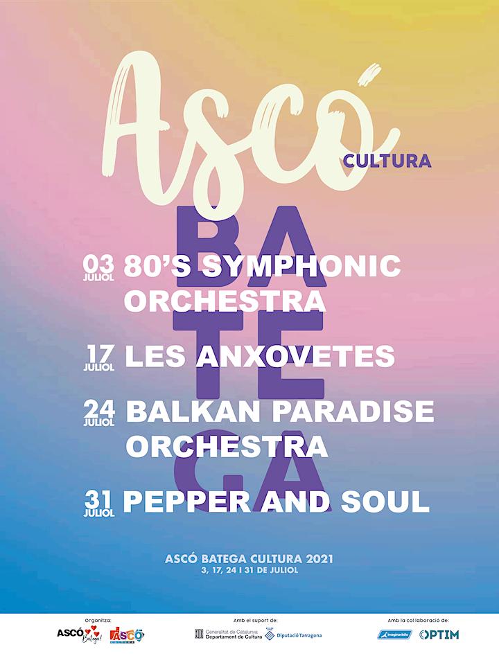 Imagen de Balkan Paradise Orchestra   Ascó Batega Cultura