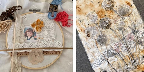 Creative Sewing Workshop with Vintage Textiles tickets