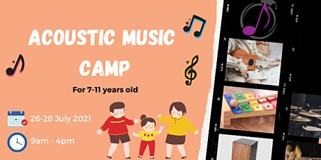 Acoustic Music Camp tickets