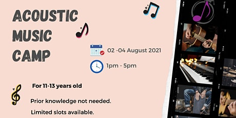Acoustic Music Camp (Pre-Teens) tickets