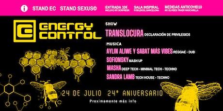 Energy Control 24 Aniversario entradas