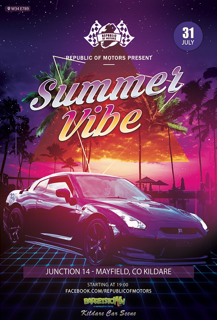 Summer Vibes in aid of Barretstown Camp image