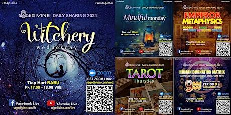 Daily Witchery, Mindfulness, Metaphysics, Tarot, Astrology, Bazi, Qimen tickets