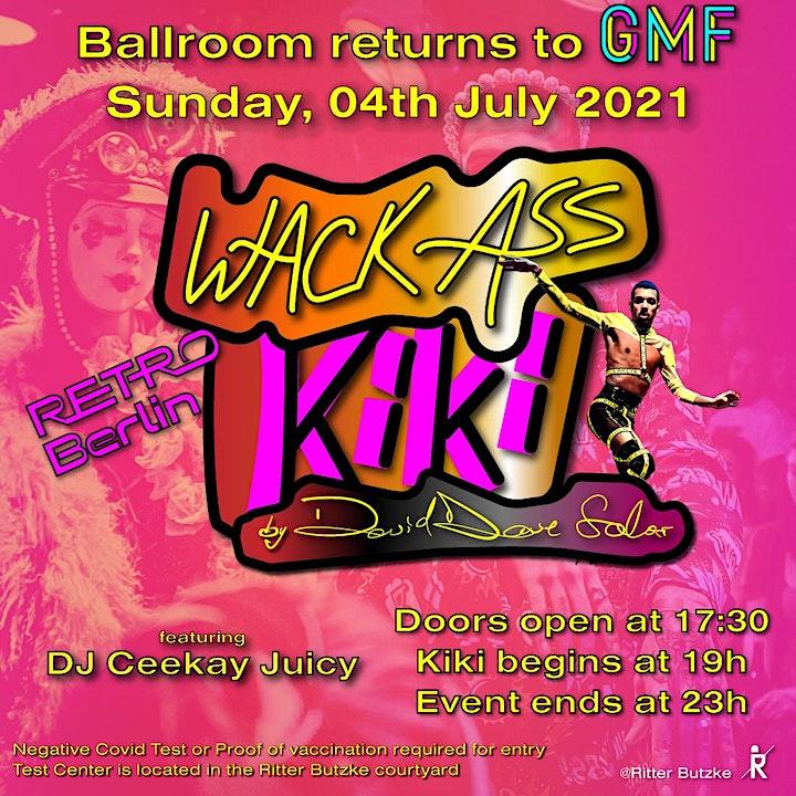 Ballroom returns to GMF *Wack-Ass KIKI* by David Dave Solar: Bild