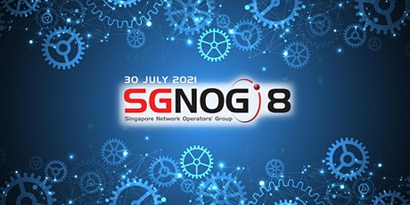 SGNOG 8 Conference (Online edition) tickets