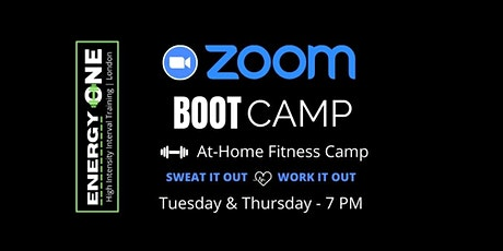 ZOOM BOOT CAMP - Tuesday tickets