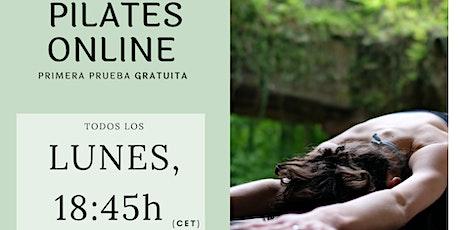 Clases de Pilates Online boletos