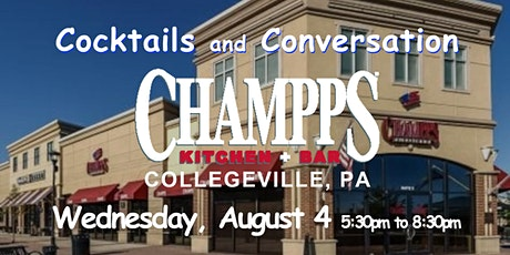 No Cover ~ Champps ~ Collegeville, PA ~ Happy Hour ~ ticket required tickets