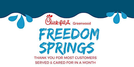 Freedom Springs Chick-fil-A Greenwood Team Event tickets