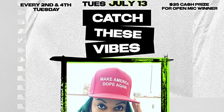 Catch These Vibes Lounge  (2nd Tuesdays | Poetry Feature) tickets