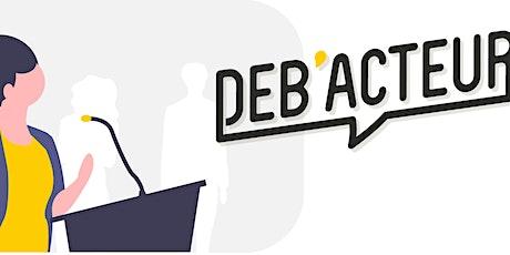 Déb'Acteur x Le Drenche - Privatisation des médias (VISIO) billets