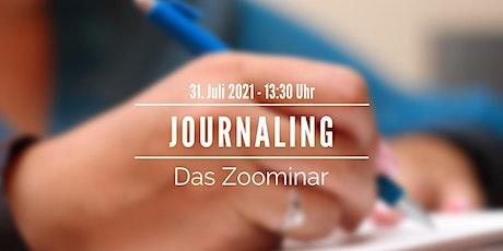 "Zoominar + Challenge ""Journaling"" Tickets"