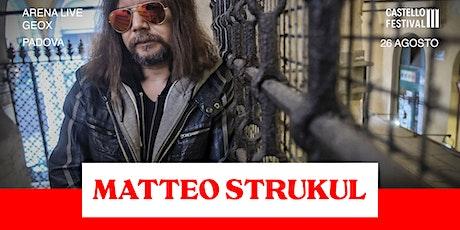 """MATTEO STRUKUL in """"DANTE ENIGMA"""" biglietti"""