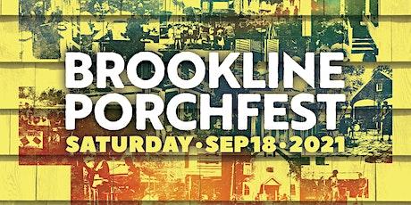Brookline Porchfest tickets