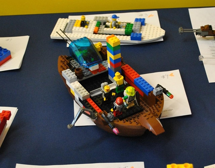 Bricks and Bluejackets: A LEGO Event image