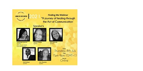 Finding Me : A journey of Healing through the Act Of Communication tickets