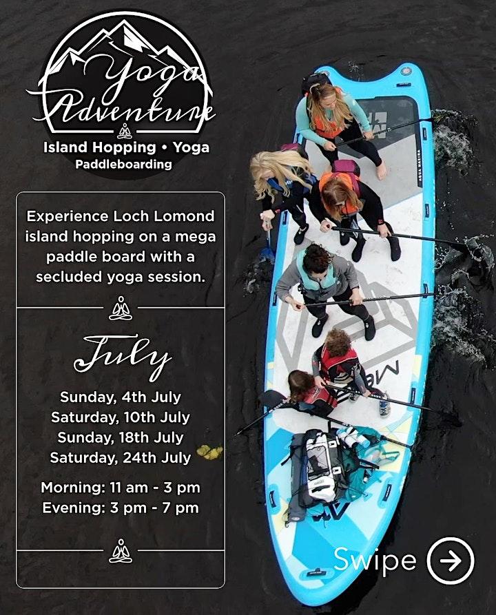 Loch Lomond Paddleboarding, Island hopping and Yoga image