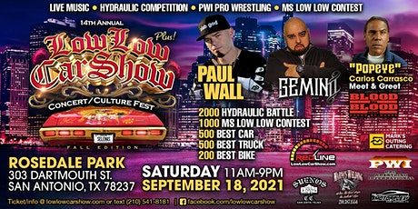Low Low Car Show & Concert tickets