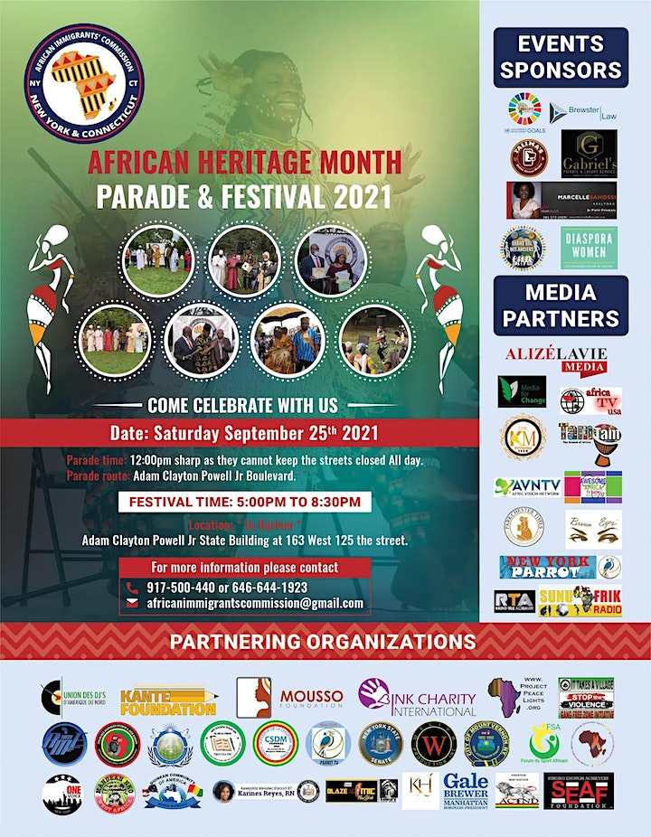 African Heritage Month Parade &Festival image