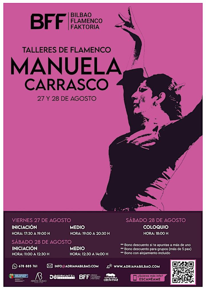 Imagen de Talleres de Flamenco - Manuela Carrasco (Iniciación)