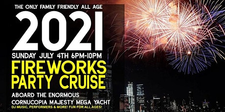 NYC 4th of July Fireworks Party  Cruise 2021 tickets