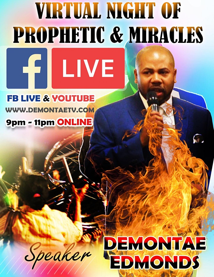 NIGHT OF PROPHETIC & SUPERNATURAL HEALING image