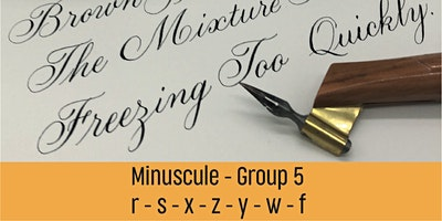 Bite-Size Minuscules Copperplate – Group 5