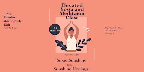 Elevated Yoga & Meditation tickets