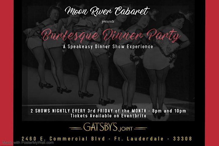 Burlesque Dinner Party image