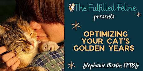 Optimizing  Your Cat's Golden Years Webinar tickets