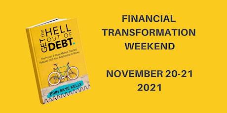 Financial Transformation Weekend 2021 (Online!) tickets