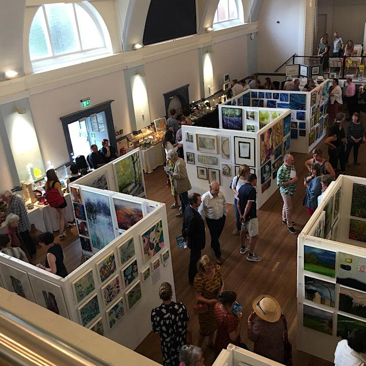 Herts Visual Arts 2021 Big Art Fair Preview Night image