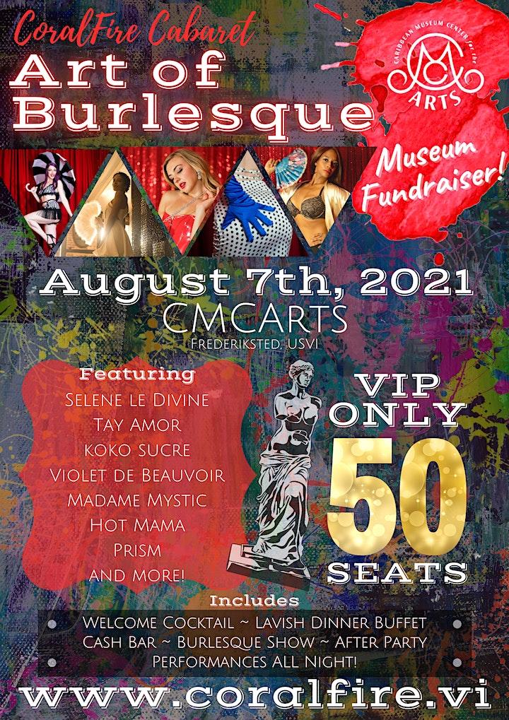 CoralFire Cabaret: Art of Burlesque image