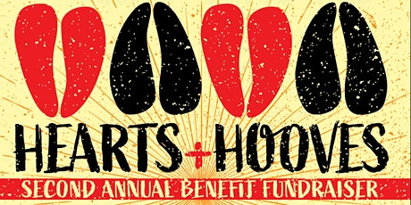 HEARTS + HOOVES BENEFIT FUNDRAISER tickets