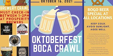 Oktoberfest Boca Bar Crawl tickets