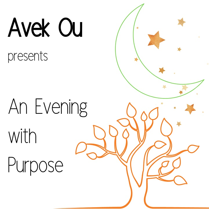 Avek Ou presents An Evening with Purpose image