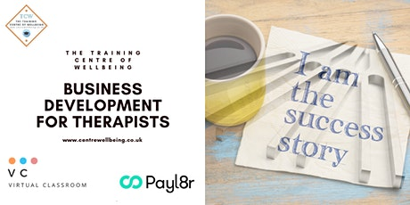 BUSINESS DEVELOPMENT FOR THERAPISTS tickets