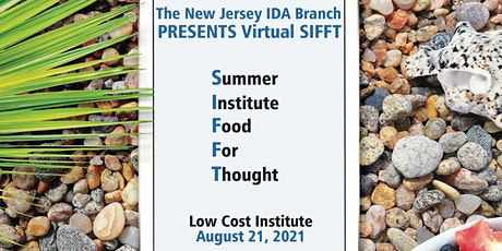 Summer 2021 NJIDA Institute Food for Thought tickets