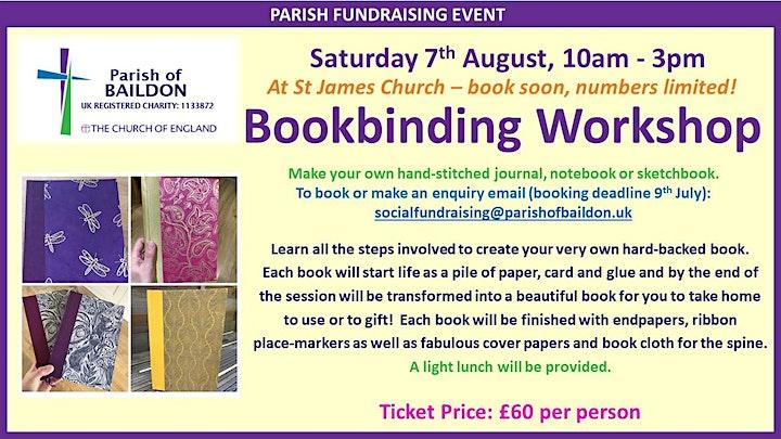Bookbinding Workshop image
