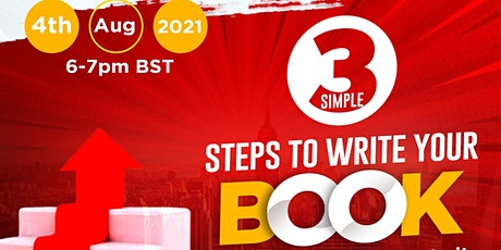 3 Simple Steps to Write Your Book tickets