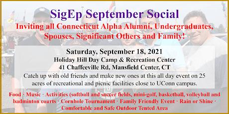 SigEp September Social tickets