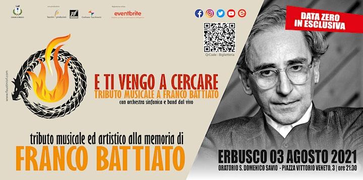 Immagine E TI VENGO A CERCARE - Tributo a Franco Battiato