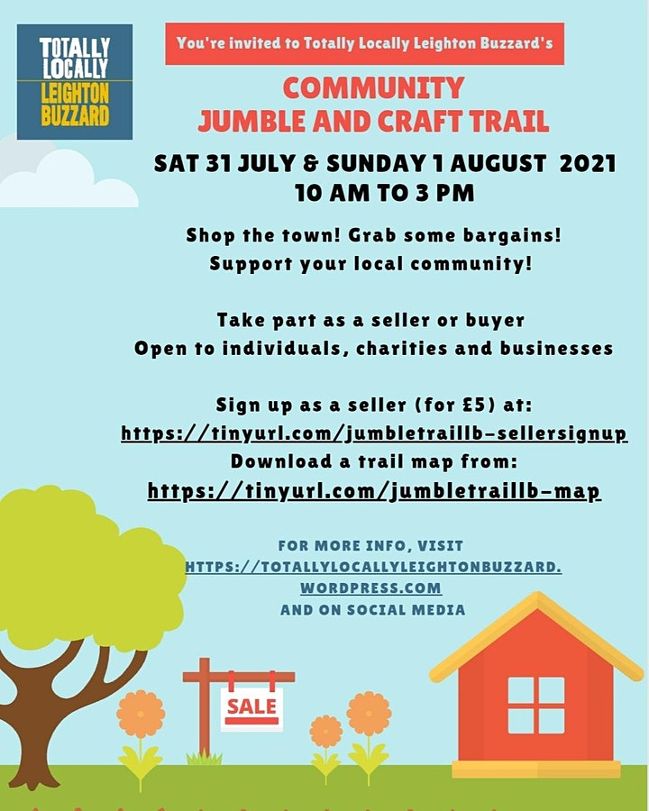 Leighton Buzzard Jumble and Craft Trail image