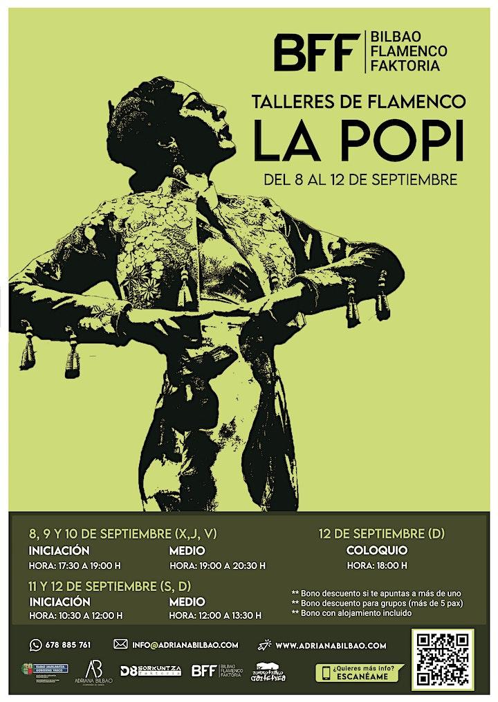 Imagen de Talleres de Flamenco - La Popi (Iniciación)