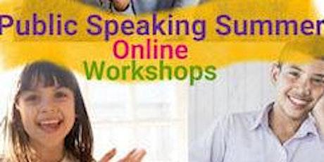 Kids Public Speaking Confidence Workshop tickets