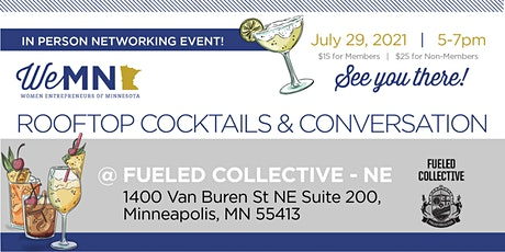 In Person! WeMN Rooftop Cocktails & Conversations! tickets