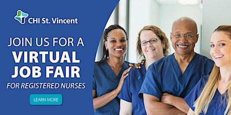 Online Job Fair for Registered Nurses - August 5 tickets