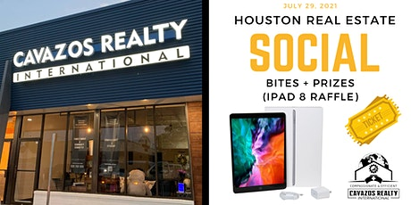 Houston Heights Real Estate Social - Bites + Prizes ($500 in Raffle Prizes) tickets