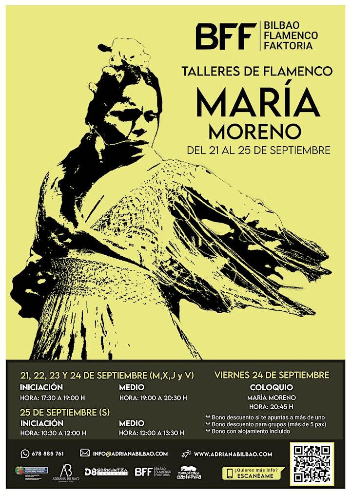 Imagen de Talleres de Flamenco - María Moreno (Iniciación)