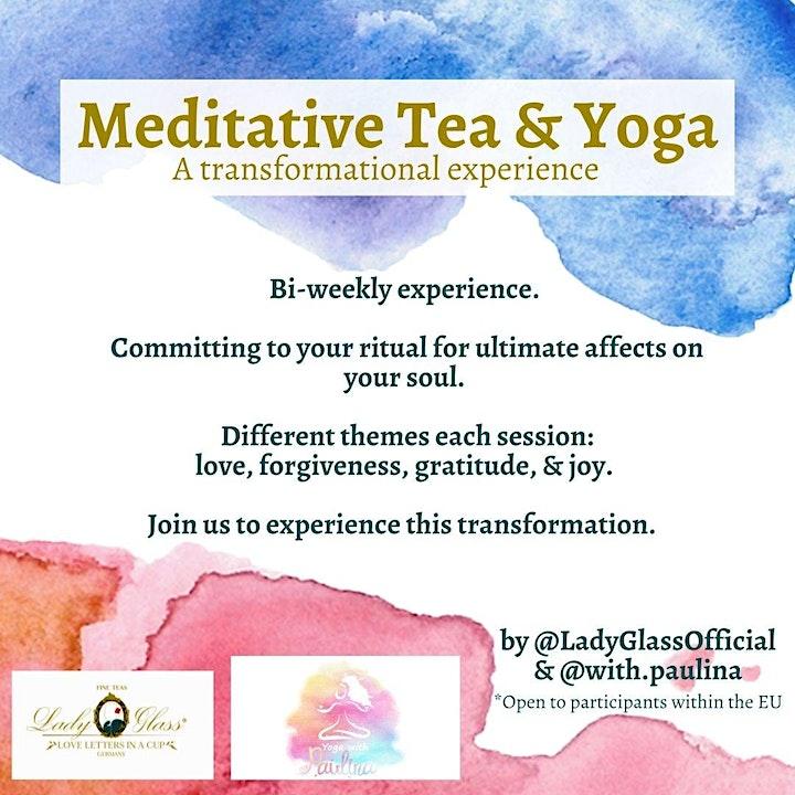 Meditative Tea & Yoga - Gratitude image